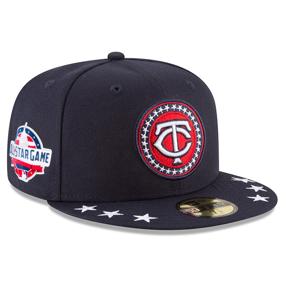 Minnesota Twins New Era 2018 MLB All-Star Workout On-Field 59FIFTY Fitted Hat - Navy