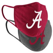 Alabama Crimson Tide Colosseum Adult Logo Face Covering 2-Pack