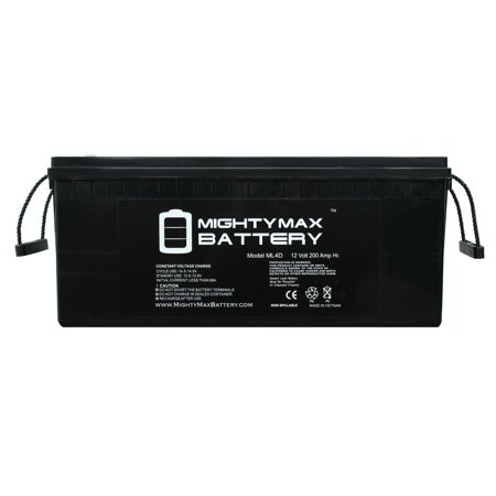 12v 200ah Solar Power Battery - Deep Cycle (Best Batteries For Solar Power)