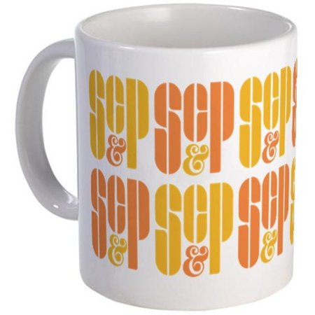 SC&P Coffee Mug Mad Men Sterling Cooper and Partners Don Draper TV (Don Draper Glasses)