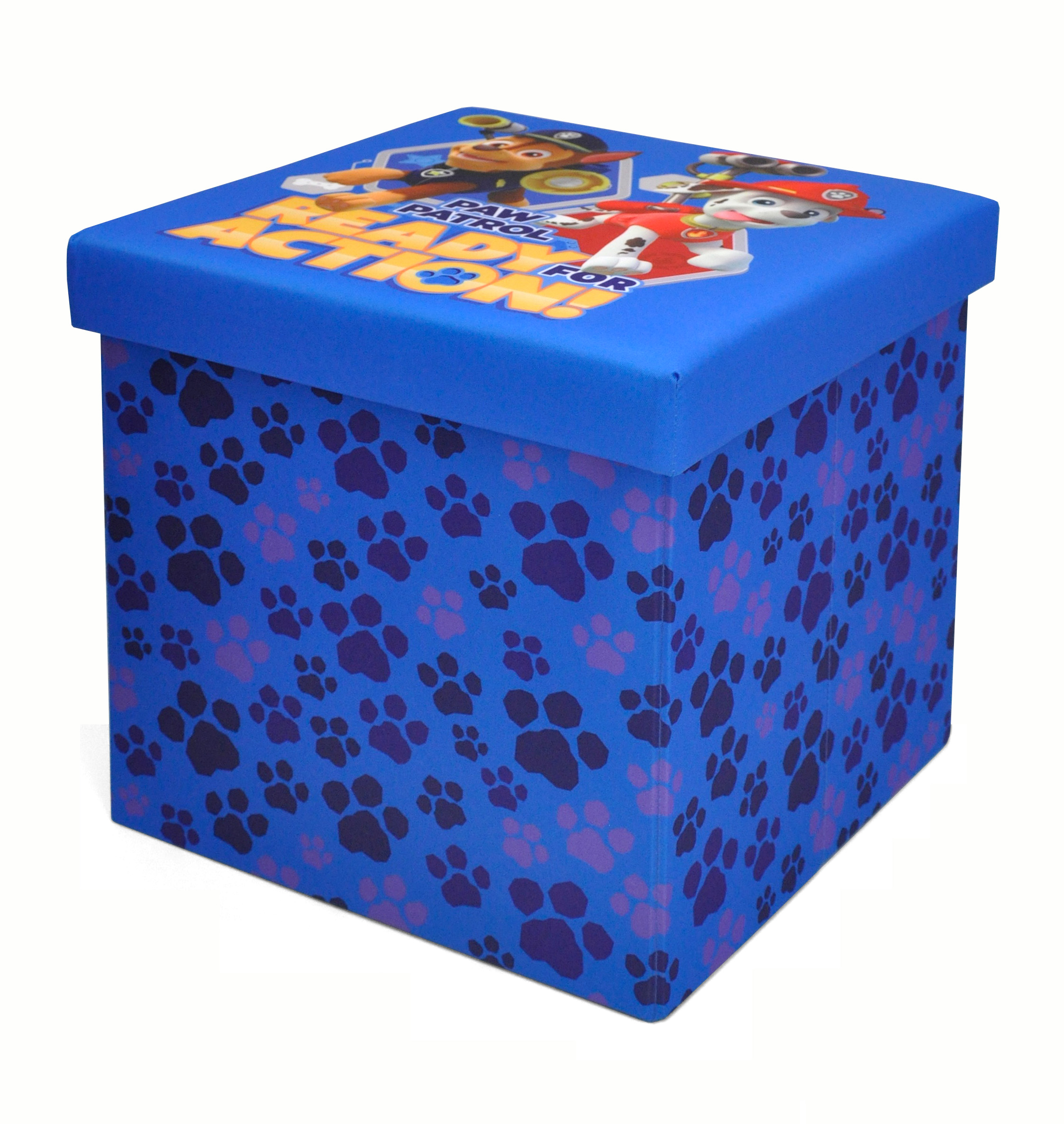 Nickelodeon Paw Patrol Collapsible Storage Ottoman