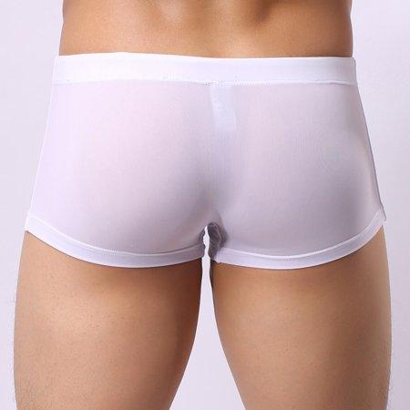 00fc7da18a New Men's Boxer Briefs Swimming Swim Shorts Trunks Swimwear Pants WH/XL -  Walmart.com