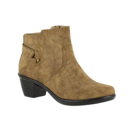women's easy street dawnta bootie - White Boots For Kids