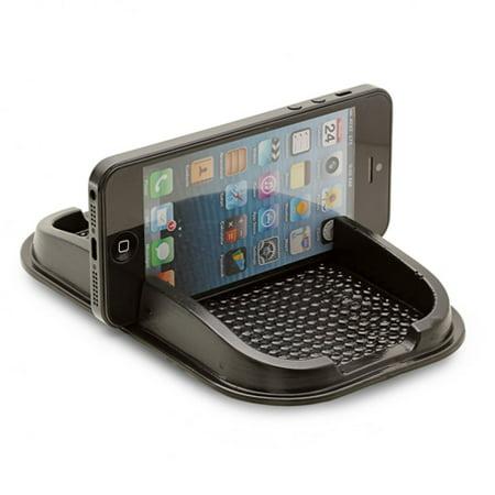 Car Dashboard Sticky Mat Non-Slip Dash Holder Mount Stand Vehicle Desktop Phone Dock Black 1D for iPhone 5 5C 5S 6 Plus 6S Plus 7 Plus SE - Google Pixel XL - HTC 10, Bolt, U11 - Huawei P10 P9 - LG G5 700 Vehicle Dock Mount