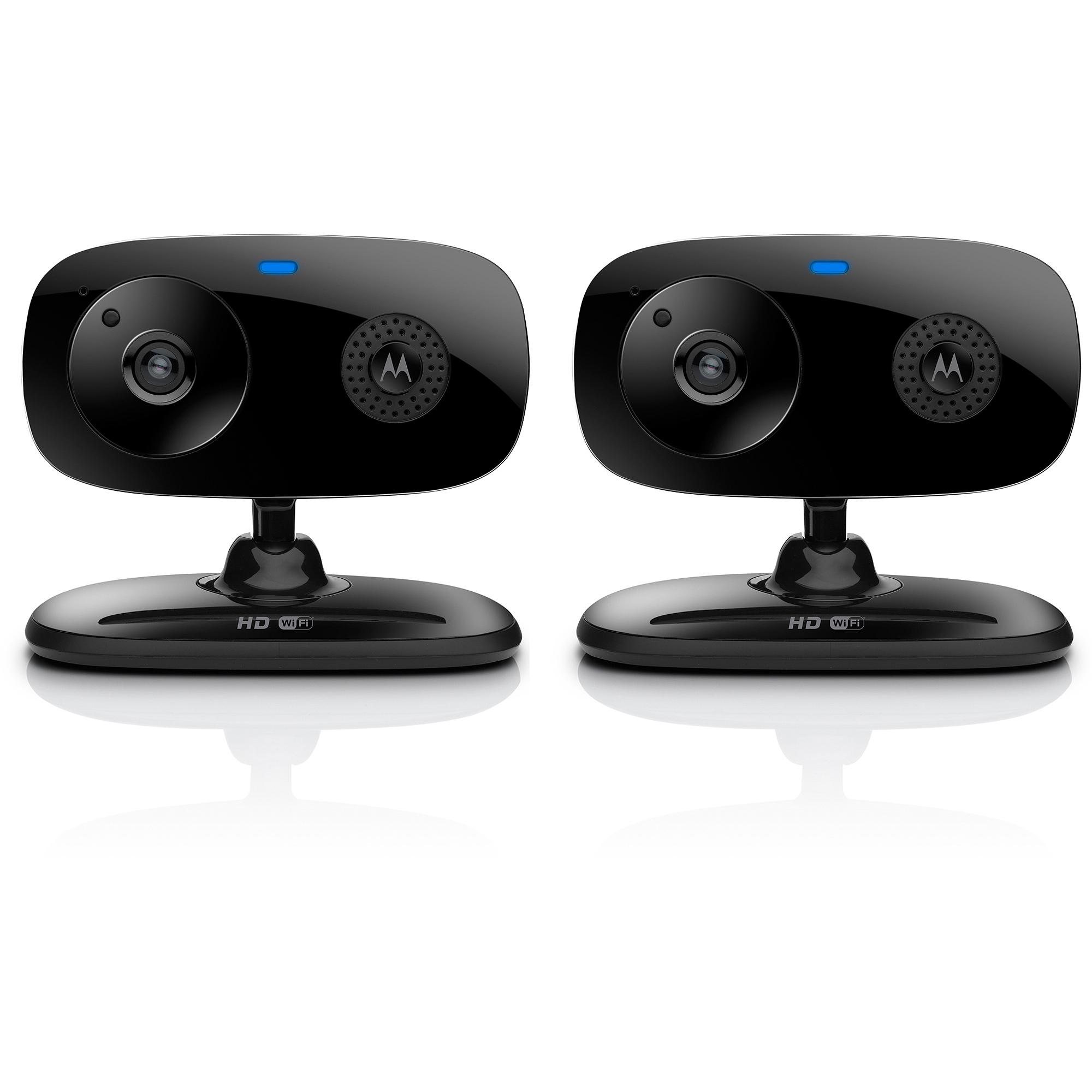 Motorola FOCUS66-B2 WiFi HD Home Monitoring Camera, 2pk, Black