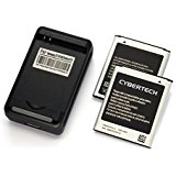 CyberTech 2X (QTY:2) High Power Replacement Batteries wit...
