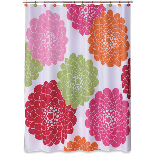 Allure Stella Pink Shower Curtain