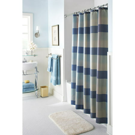 Better homes and gardens multi plaid shower curtain cool Better homes and gardens shower curtains