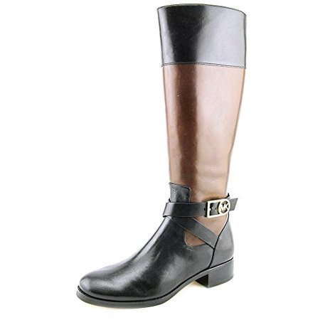 free shipping attractive style outlet store sale MICHAEL Michael Kors Womens Bryce Leather Almond Toe Mid-Calf Riding Boots