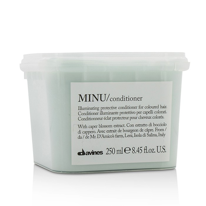 Davines Minu Conditioner Illuminating Protective Conditioner (For Coloured Hair) - 250ml/8.45oz