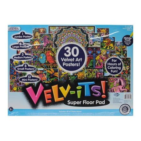 Velv-its Super Coloring Posters by Horizon Group USA - Walmart.com