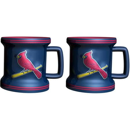Mlb St  Louis Cardinals 2 Pack Mini Mug