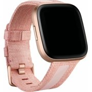 Woven Small Watch Band for Fitbit Versa 2 and Versa Lite - Pink