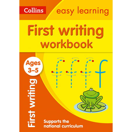 Collins Easy Learning Preschool – First Writing Workbook Ages 3-5: New Edition