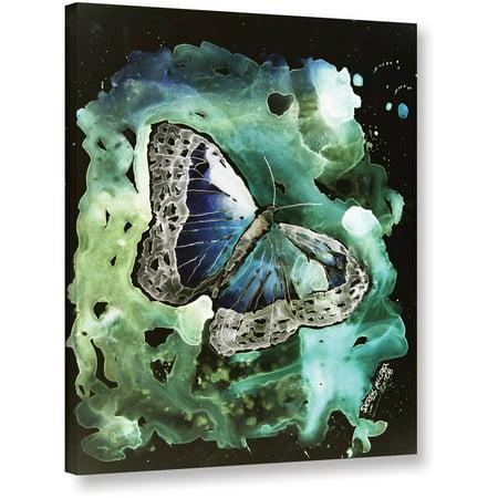 """ArtWall Derek Mccrea """"Digital Monarch Butterfly"""" Gallery-wrapped Canvas"""