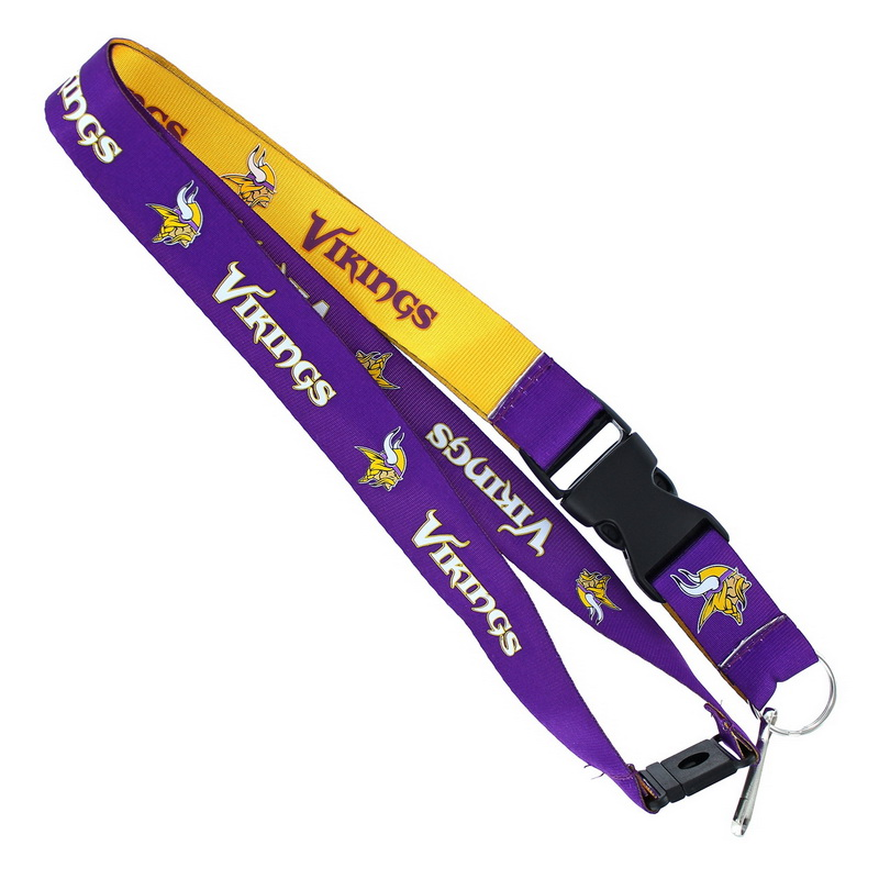 Aminco Minnesota Vikings Lanyard - Reversible