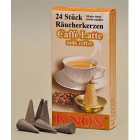 Pinnacle Peak Trading Co Knox Caffe Latte Milk Coffee Scent German Incense Cone