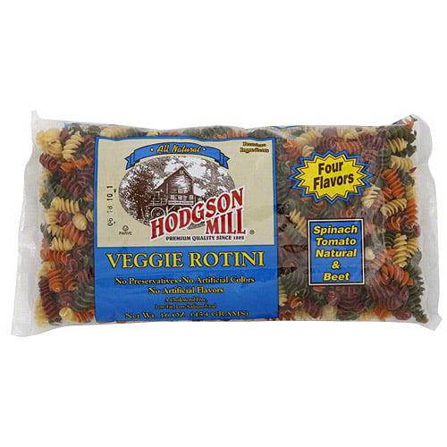 Hodgson Mill Veggie Rotini, 16 oz (Pack of 12)