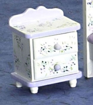 Dollhouse Violet Night Stand