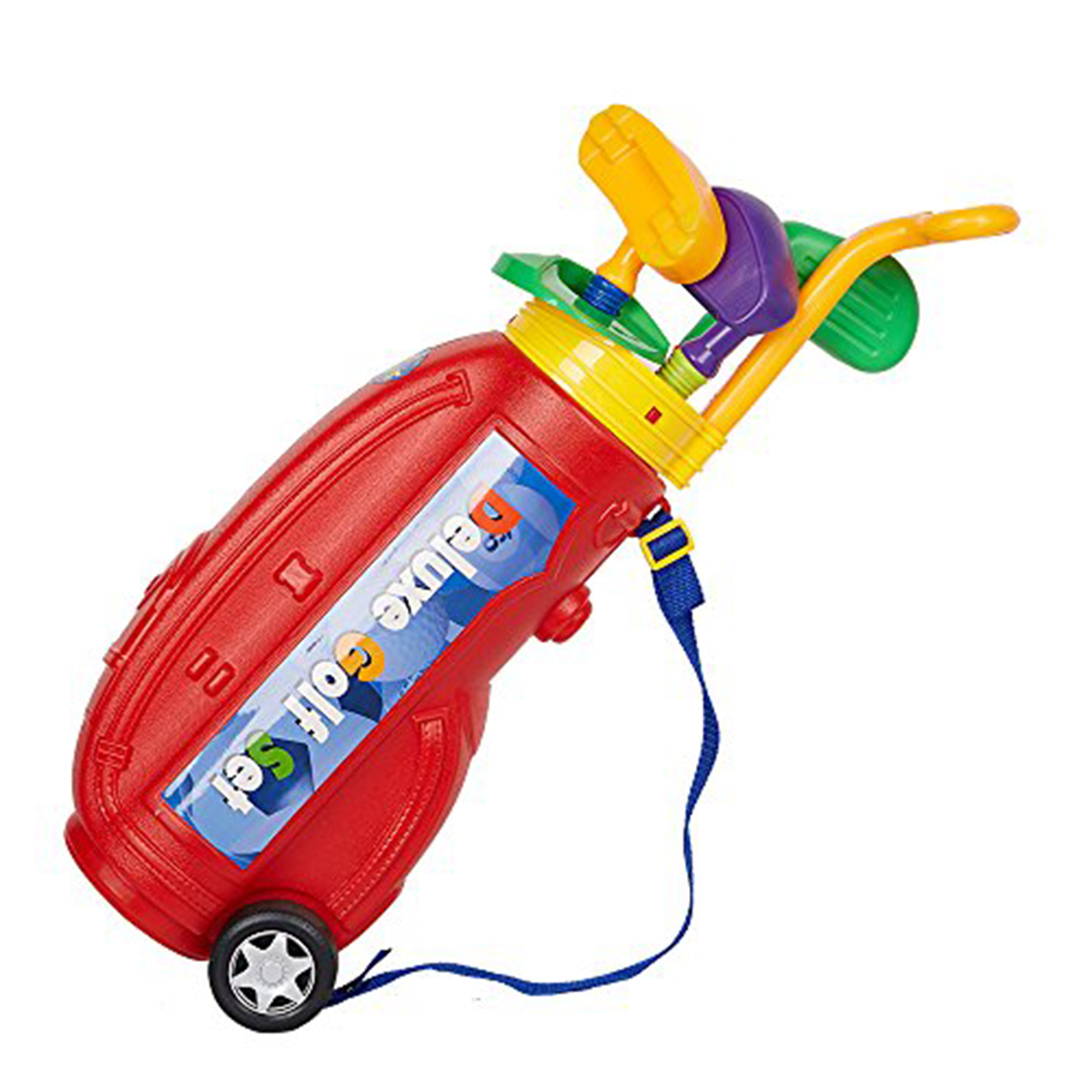 KARMAS PRODUCT Easy Hit Toy Golf Set Children Sport Golf Cart by KARMAS PRODUCT