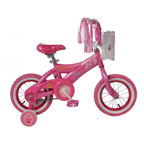 Kent Bicycles Girl's 12'' Pinkalicious Cruiser Bike