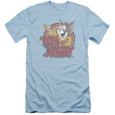 Tom And Jerry Water Damaged Mens Slim Fit Shirt](Tom & Jerry Costumes)