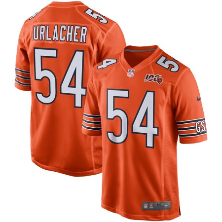 Brian Urlacher Chicago Bears Nike 100th Season Retired Game Jersey - Orange