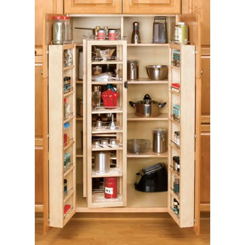 Rev-A-Shelf  4WP18-57-KIT  Pull Out Pantry Organizers  4WP  Tall Cabinet Organizers  Pull Out Systems  tural
