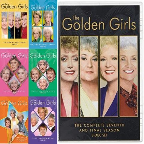 95565eb5a002 The Golden Girls: The Complete Series - Walmart.com