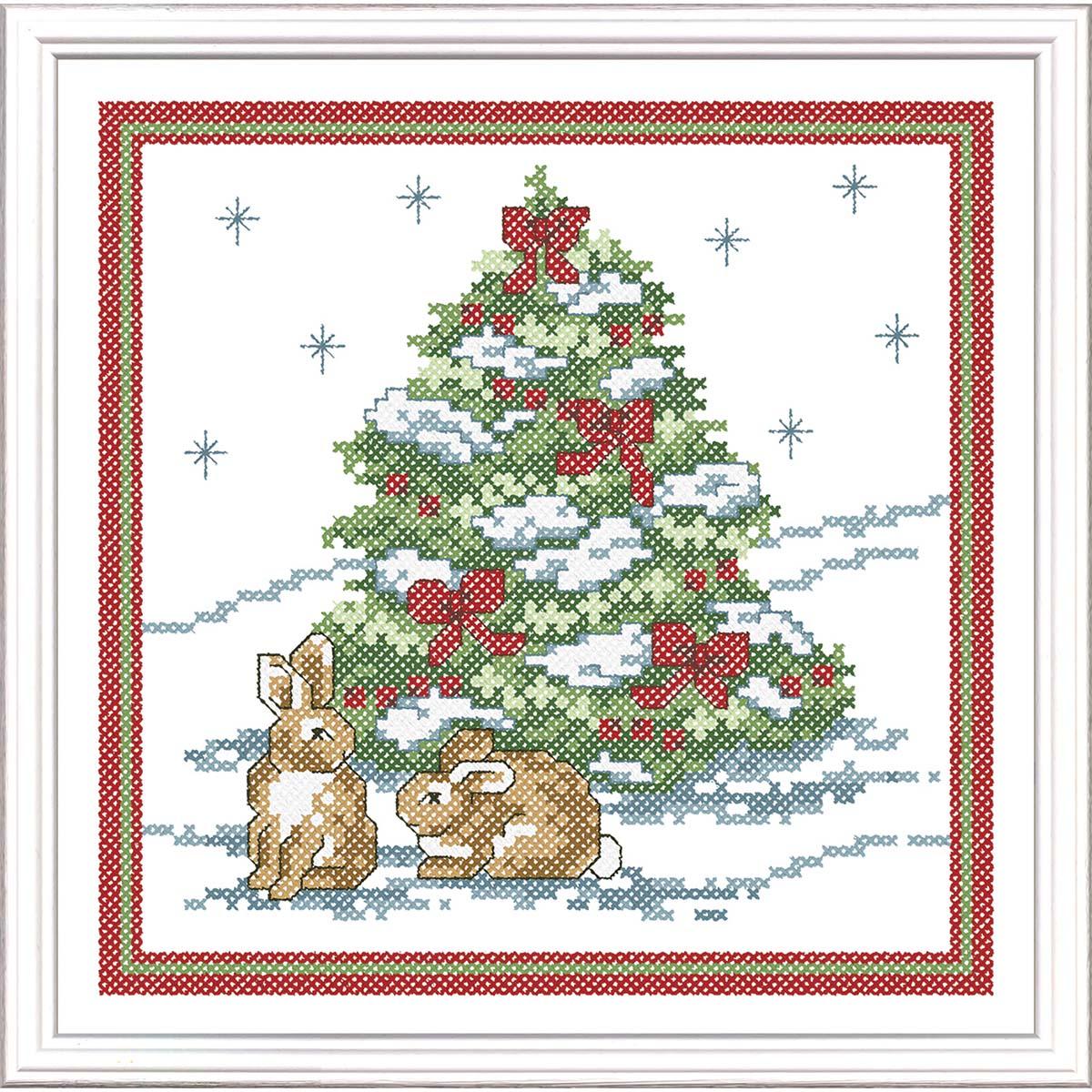 Herrschners® Winter Wonderland Stamped Cross-Stitch Kit