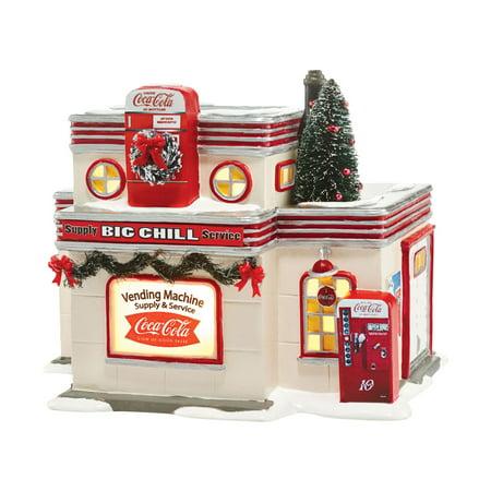 Dept 56 Snow Village Coca Cola Big Chill Supply & Service 4044861 -