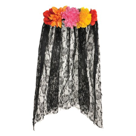 Day of the Dead Veil for Women - Women Day Of The Dead
