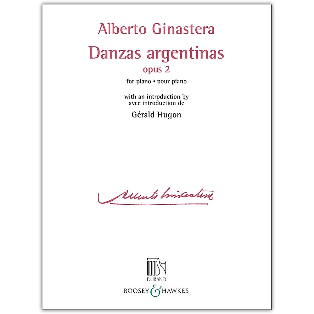 Boosey and Hawkes Danzas Argentinas Opus 2 for Piano (with an introduction by Gerald Hugon)