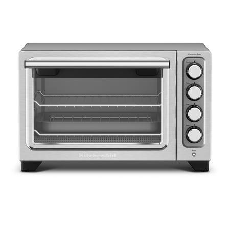 KitchenAid® Compact Oven, Contour Silver (KCO253CU)