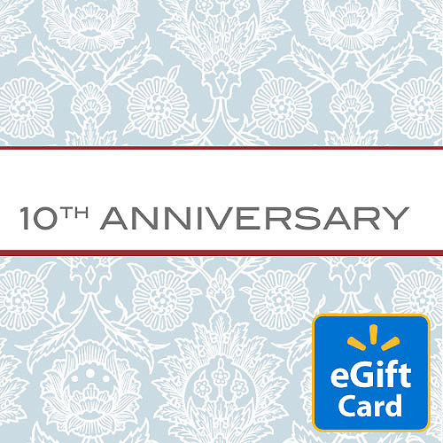10th Anniversary Walmart eGift Card