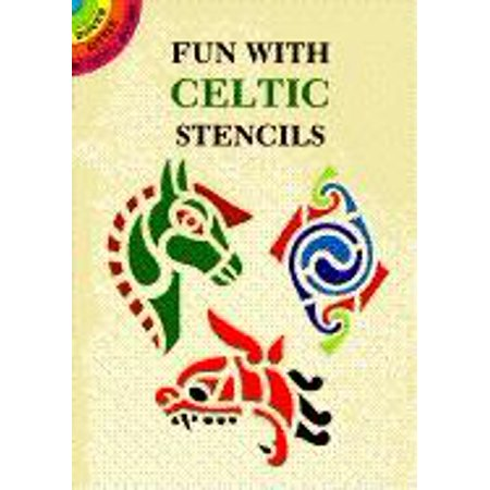 Celtic Art Blank Book (Dover Little Activity Books: Fun with Celtic Stencils (Paperback))