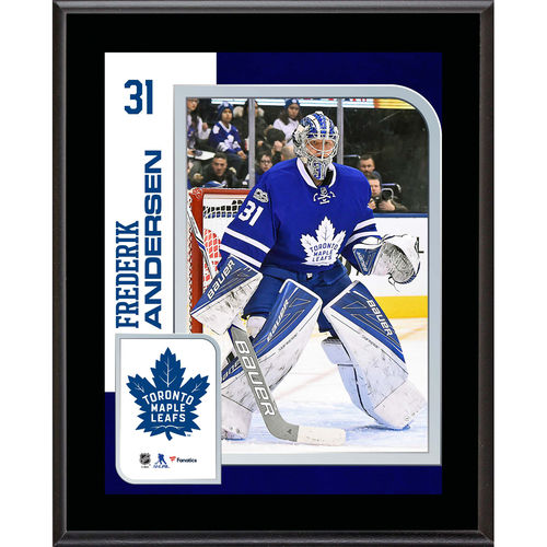 "Frederik Andersen Toronto Maple Leafs 10.5"" x 13"" Sublimated Player Plaque - No Size"