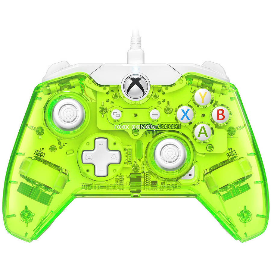 PDP Rock Candy Wired Controller (Xbox One), Green