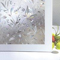 Bloss window film window clings window shades window decals window tint privacy window decorative window film(17.7-by-78.7inch)