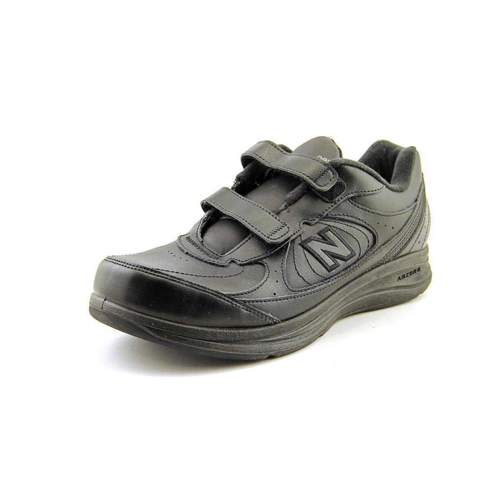 New Balance MW577 Men 4E Round Toe Leather Black Walking Shoe by New Balance