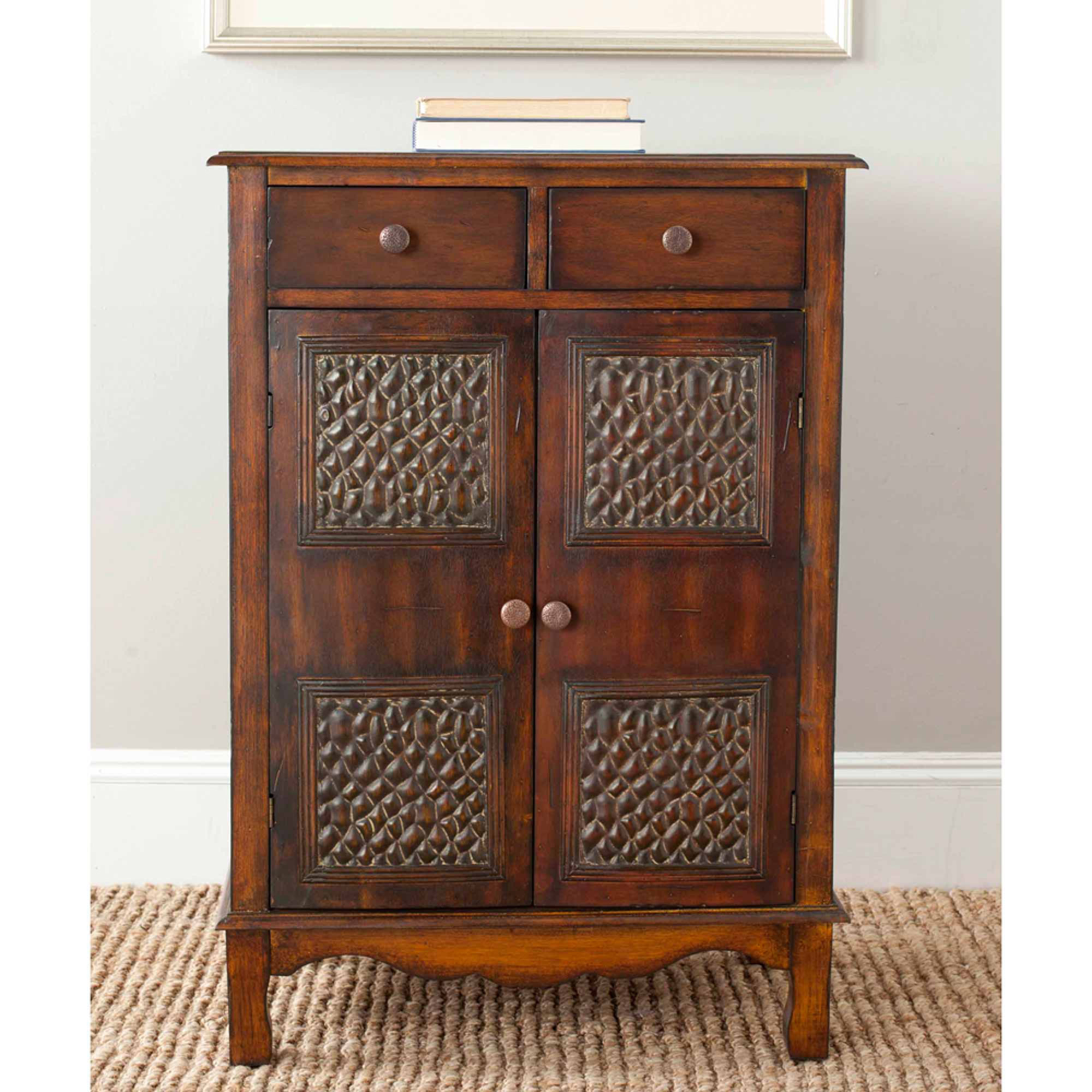 Safavieh Herbert Chest, Dark Brown