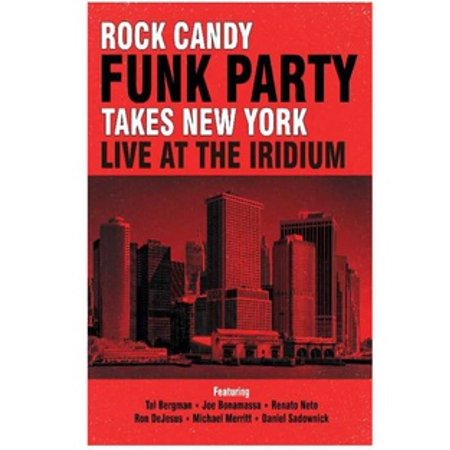 ROCK CANDY FUNK PARTY-TAKES NEW YORK-LIVE AT THE IRIDIUM (BLU-RAY/2 CD-COM) (Blu-ray)