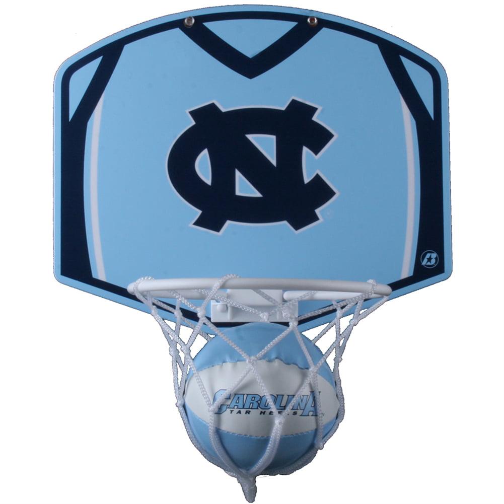 North Carolina Tar Heels Mini Basketball And Hoop Set