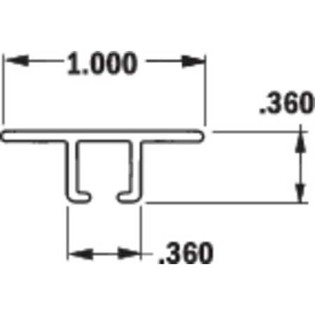 TANIS Strip Brush Holder,Overall Length 36 In AH250436CF