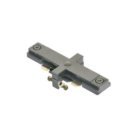 (Jesco Lighting J1IJ-BK Single Circuit Mini I Joiner - Black)