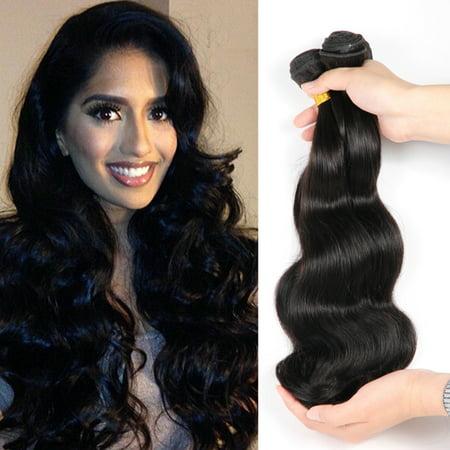 Extensions de trame de trame de cheveux humains non traités naturels à haute température de cheveux bouclés noirs naturels - image 7 of 7