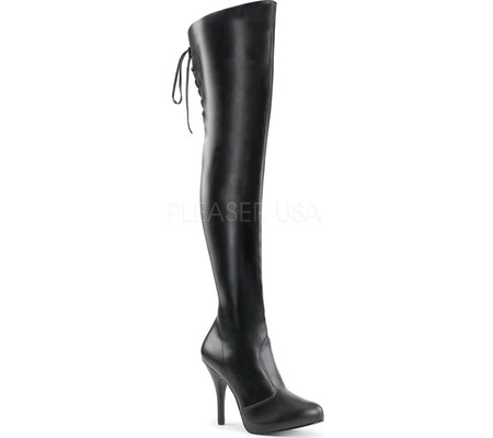 Women's Pleaser Pink Label Eve 312 Thigh-High Boot
