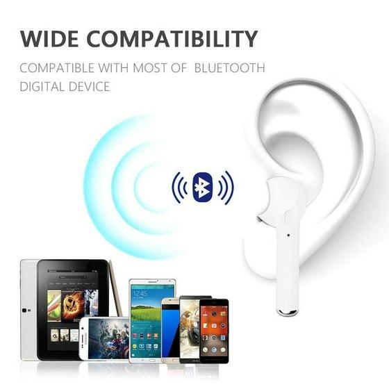 Bluetooth Headphones, Wireless Earbuds Stereo Earphone Cordless