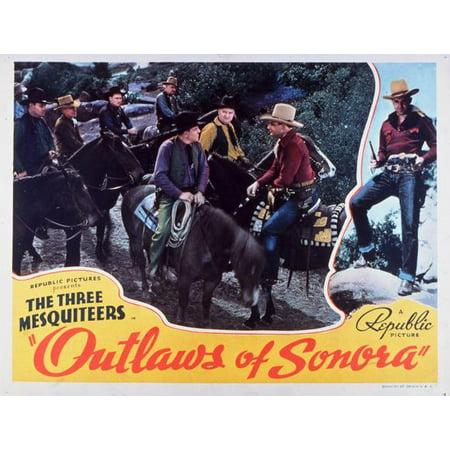 Outlaws of Sonora POSTER Movie B Mini Promo (Banda Sonora Halloween Mp3)