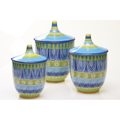 Certified International Tapas 3-Piece Canister Set